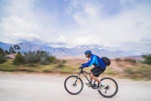 mountain biking in peru