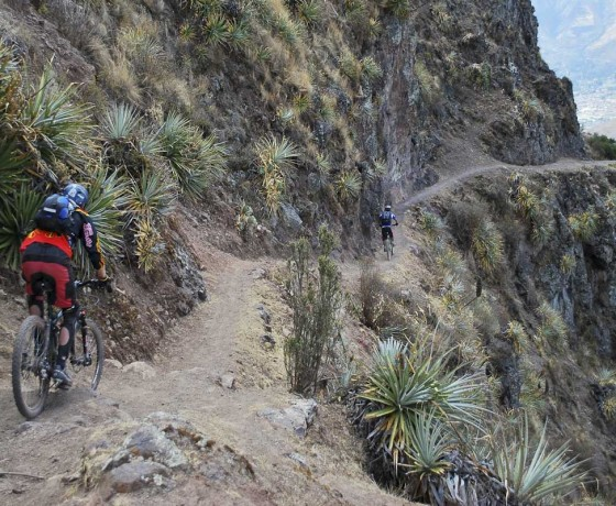 mountain biking in peru amazonas explorer