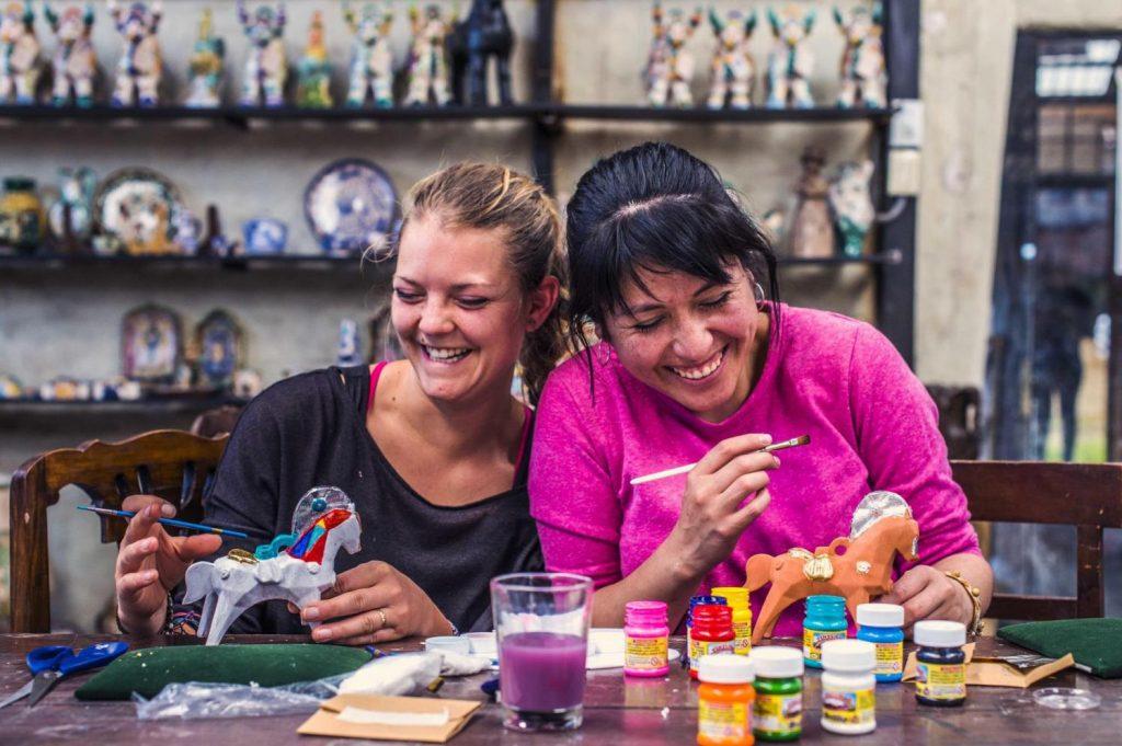 Cusco art workshop