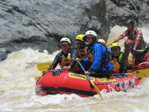 Amazonas Explorer raft on Apurimac River Peru