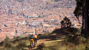 Ebiking in Cusco Peru