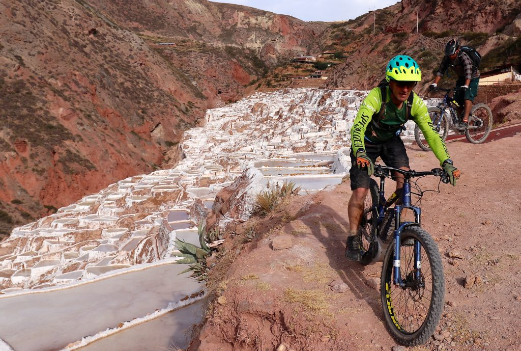 Ebiking in Cusco- Maras saltpans