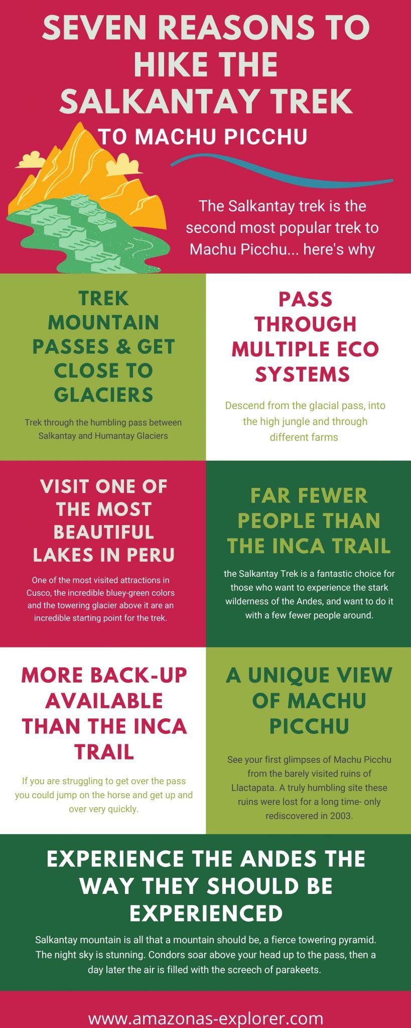 7 reasons to hike the salkantay trek