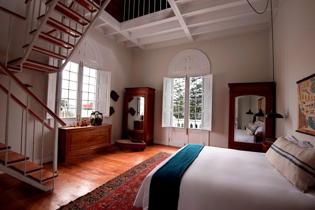 master suite, villa barranco, lima, peru