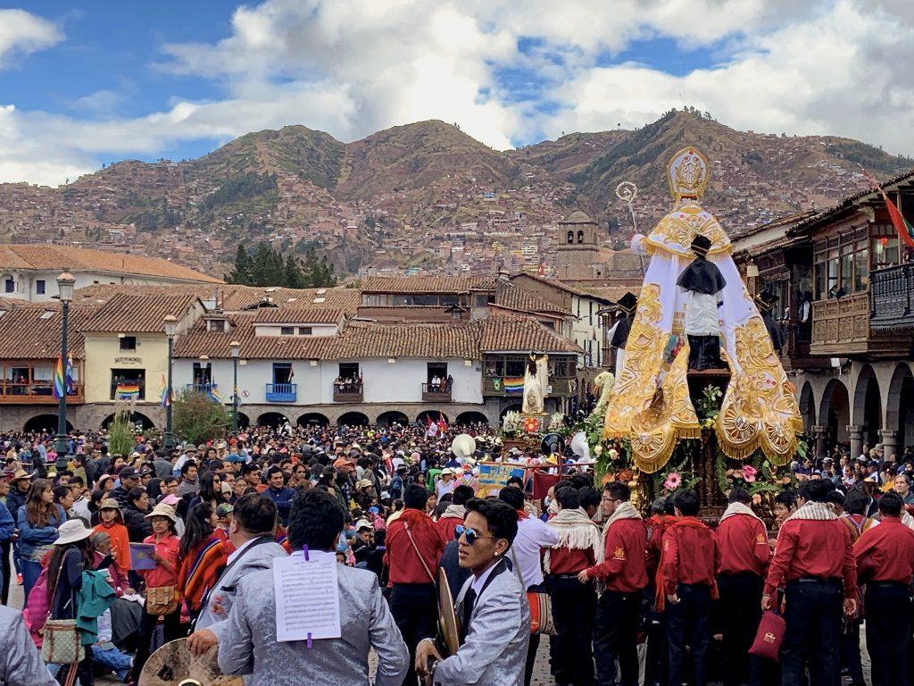 cusco festivals are full of sound