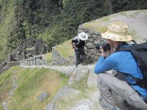 Machu Picchu Ruins Wiñay Wayña