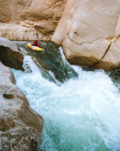 Granite Canyon Drop on the Apurimac River