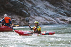Kayaker on the Apurimac River