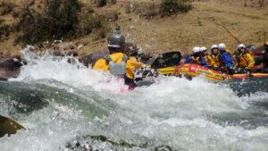 Peru Whitewater Rapids