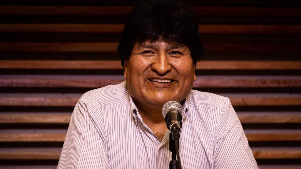 evo morales weighs in about the peruvian elections