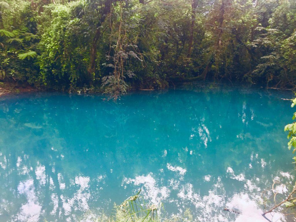 blue lagoon in costa rica vs peru
